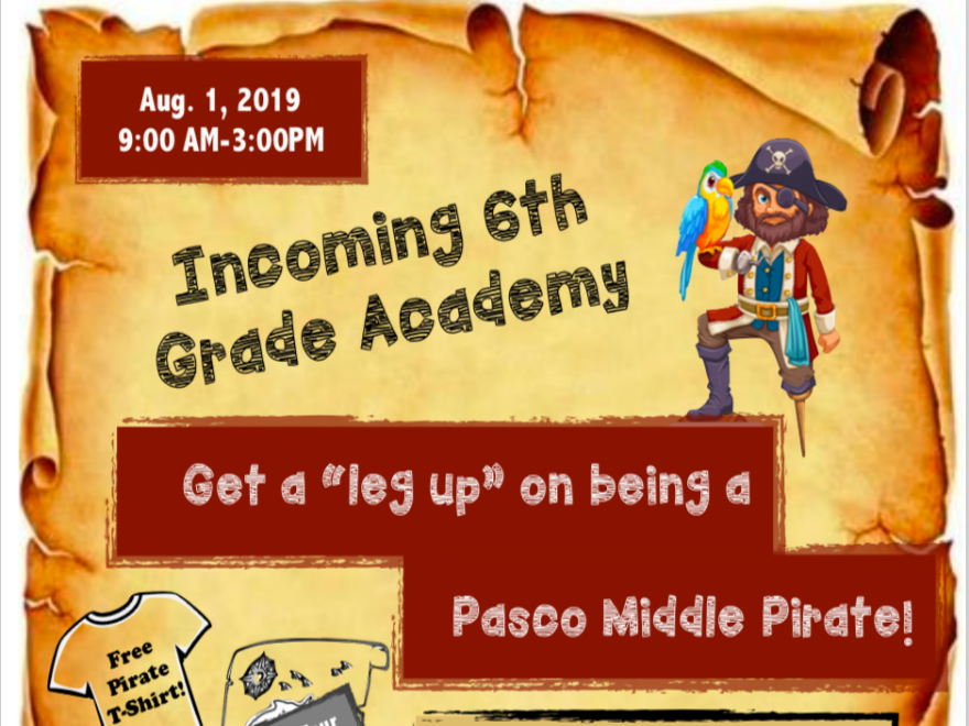 Incoming 6th Grade Academy