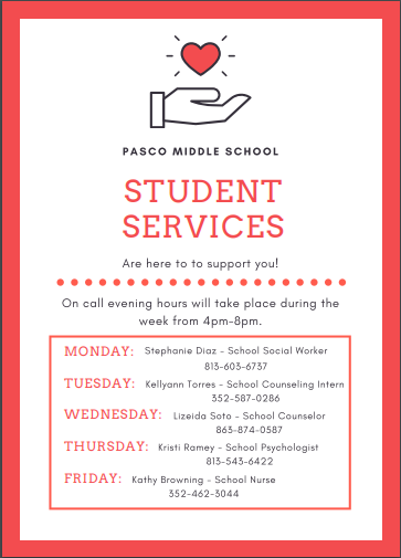 Available Student Services